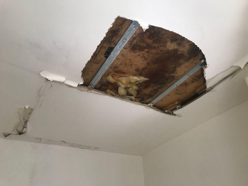 fuite eau plafond